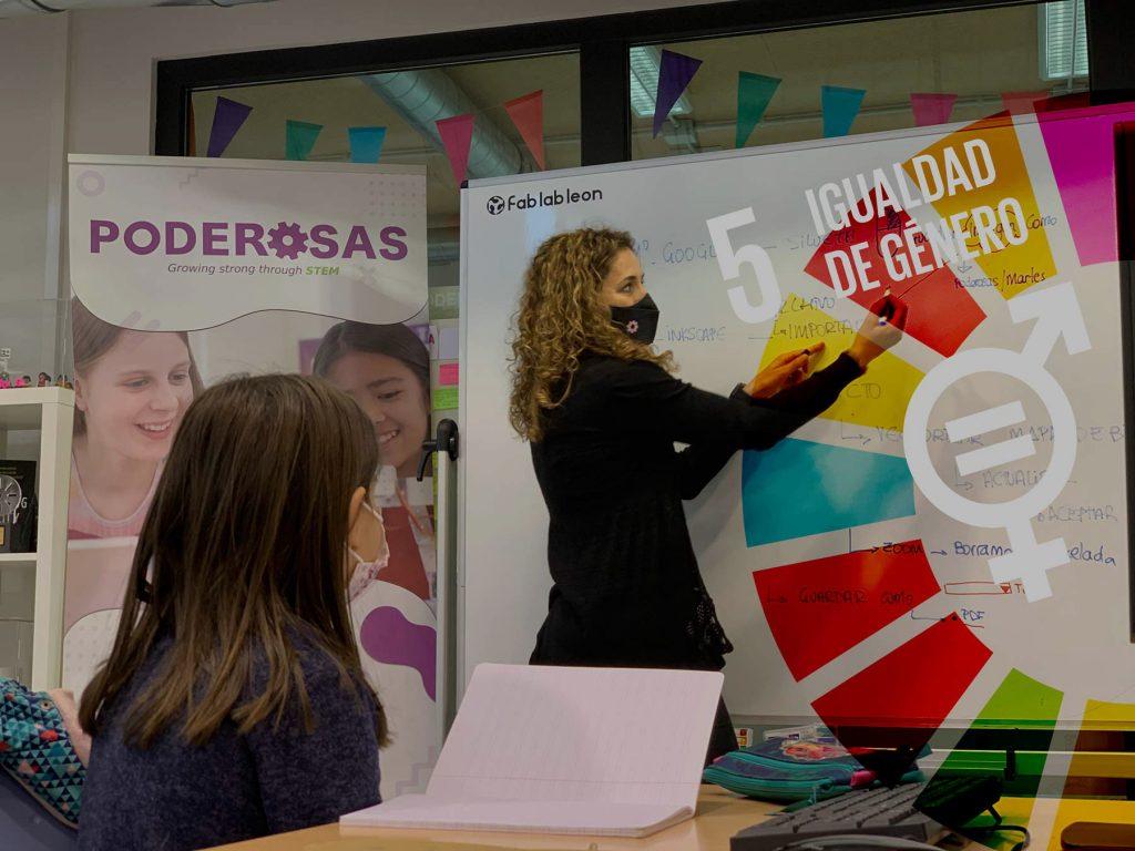 Fab Lab León con la igualdad de género